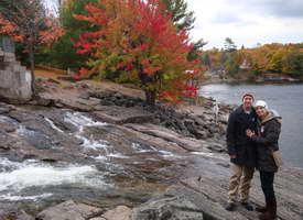 Ben & Katie, Bala Falls, Oct. 13, 2012_1_275x200