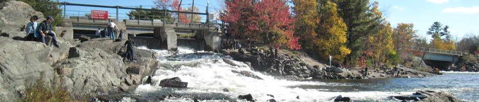 The Bala north falls